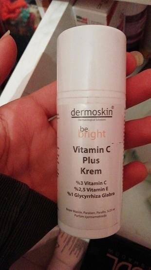 dermoskin be bright aydınlatıcı c vitamini