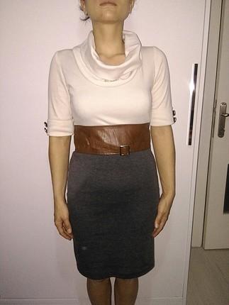 yarım kol elbise