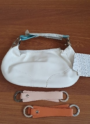 avon beyaz renk el çantası