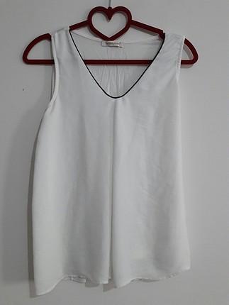 bluz beyaz