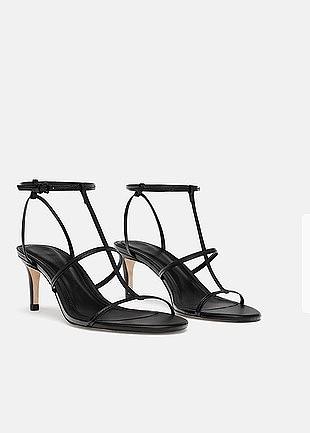 Zara Deri Sandalet