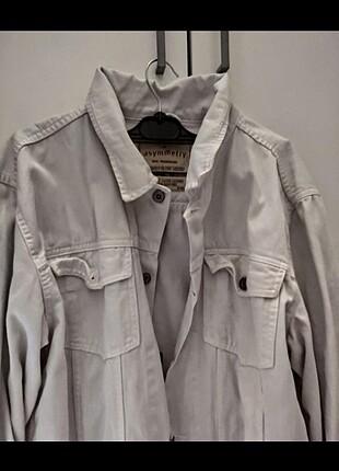 Beyaz XXL ceket