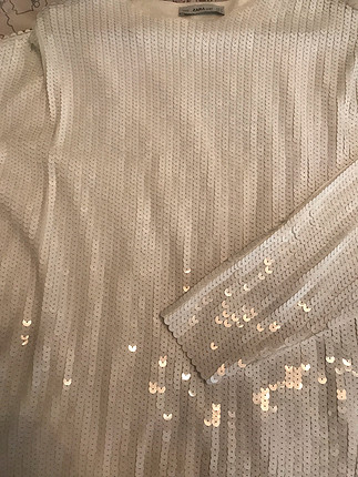 Zara Zara payet bluz