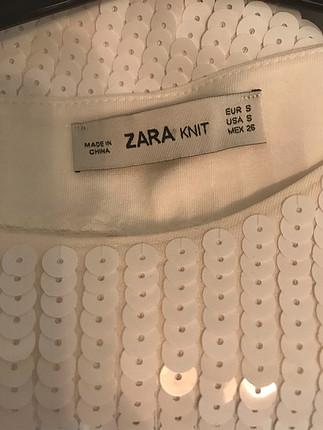 s Beden Zara payet bluz