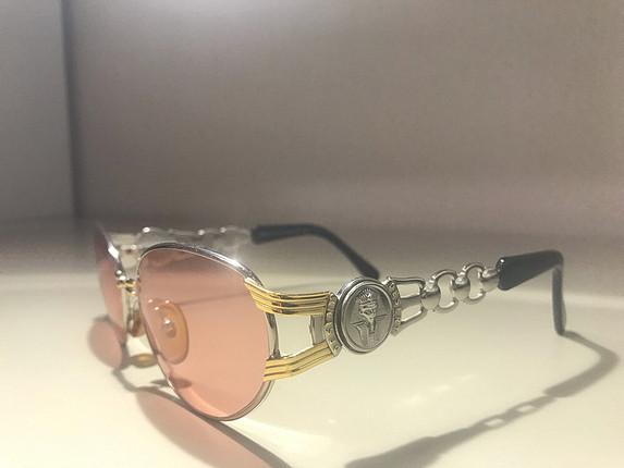 Firavun detaylı Vintage gözlük özel seri