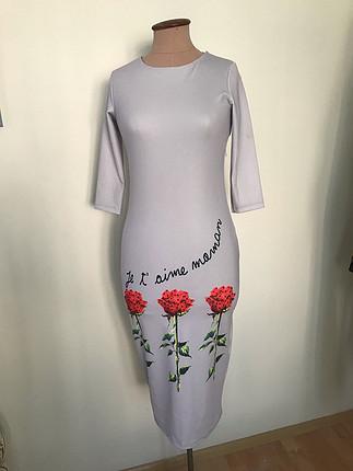 Dalgıç kumaş elbise