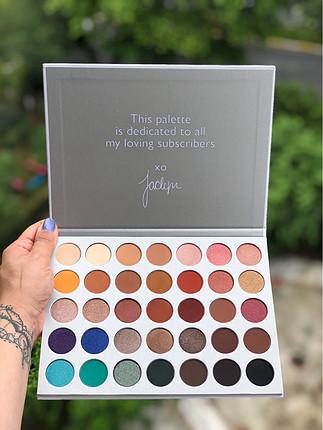 Morphe Jacklyn Hill Orijinal Sıfır Far Paleti muhteşem renkler