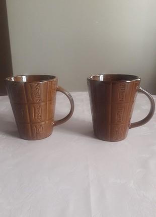 nescafe bardağı ikili