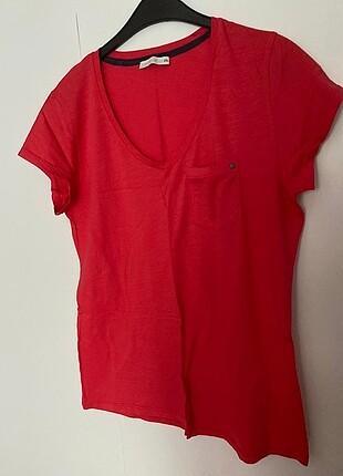 Pembe renkli büyük beden tişört