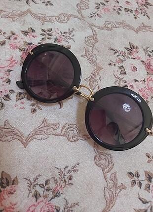 Miu miu siyah gözlük