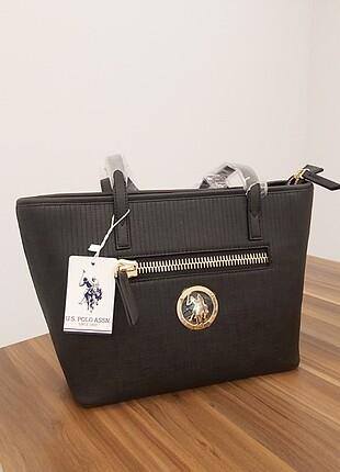 Beden siyah Renk Polo orijinal kol çantası