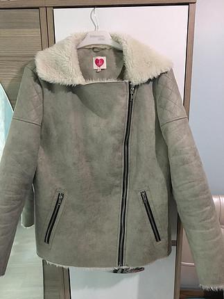 Kürk yaka Ceket