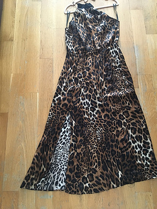 ipekyol İoekyol naturel leopar desenli elbise sonbahar kış koleksiyonu ü