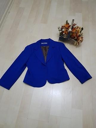 saks mavi ceket