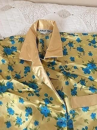 saten pijama