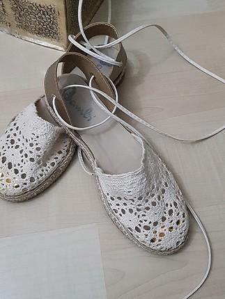 yazlik ayakkabı cok sık ve rahat