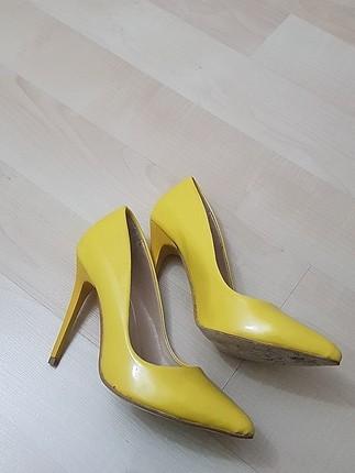 sarı stıletto