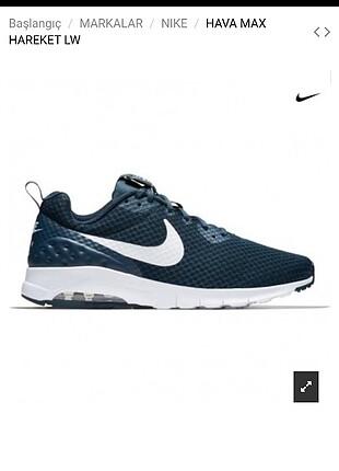 Lacivert Nike Air Max motion bayan ayakkabı