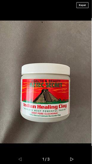 Aztec indian healing clay yeşil betonit kil