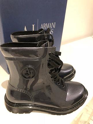 Armani exchange rainboot