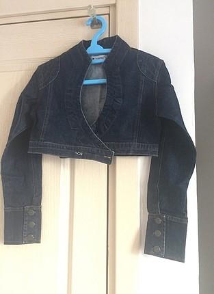Kısa Kot Ceket