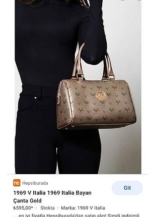 Orjinal Versace 19.69 kol çantası