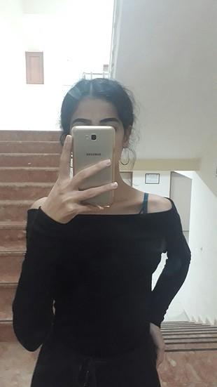 siyah üst
