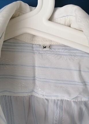 m Beden beyaz Renk Vintage gömlek
