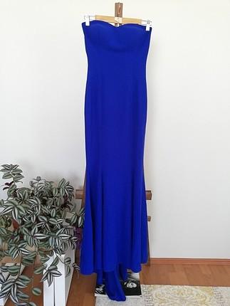 balık model elbise uzun