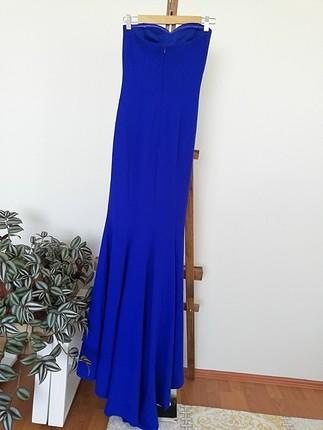 Abiye balık model elbise uzun