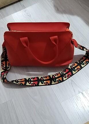 Beden turuncu Renk Omuz çantası