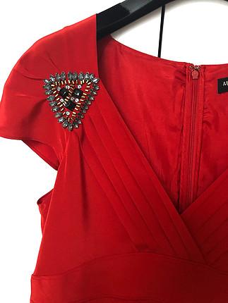 l Beden Massimo Dutti İpek Elbise