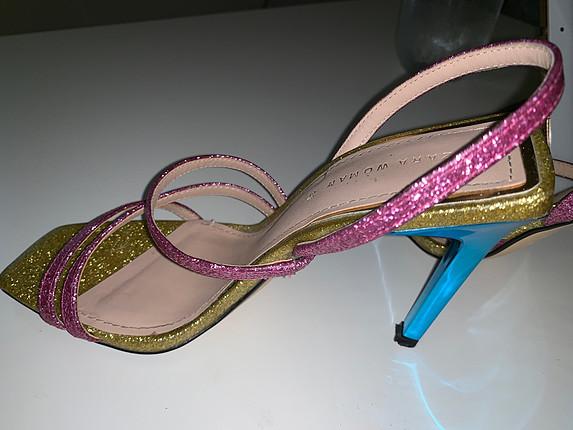 Zara Zara simli ayakkabı