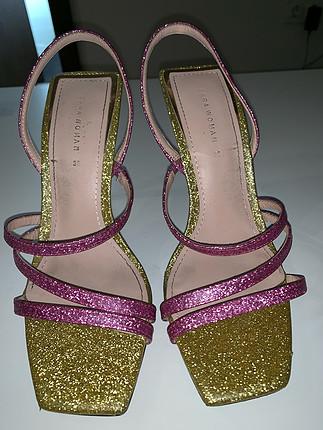 38 Beden Zara simli ayakkabı