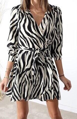 Zebra model elbise