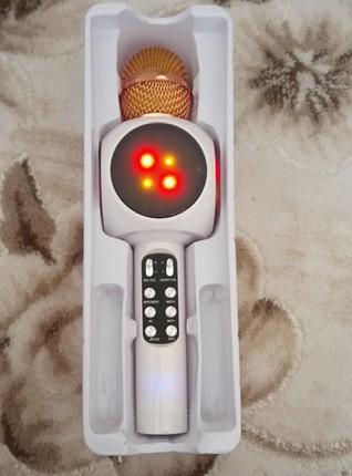 karoke mikrofon Bluetooth baglantı flaş belek ve hafıza kartı ta