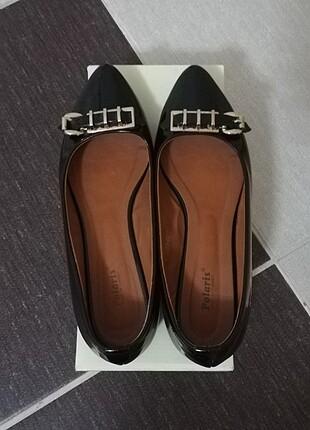 Polaris siyah ayakkabı