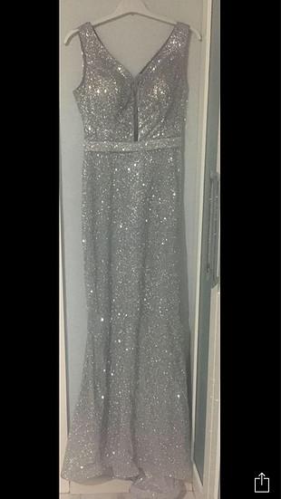 34 Beden abiye elbise
