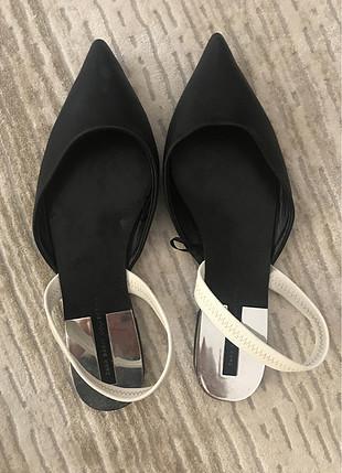 Zara Zara siyah ayakkabı