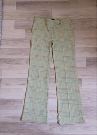 Kareli pantolon