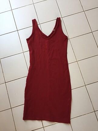 Slimfit elbise
