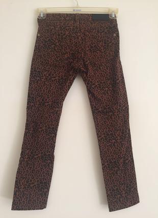 Leopar desenli pantolon