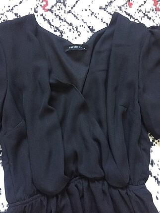 Trendyol & Milla Kol detaylı siyah elbise