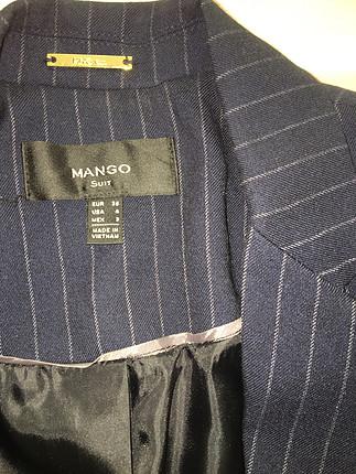 s Beden Mango lacivert ceket