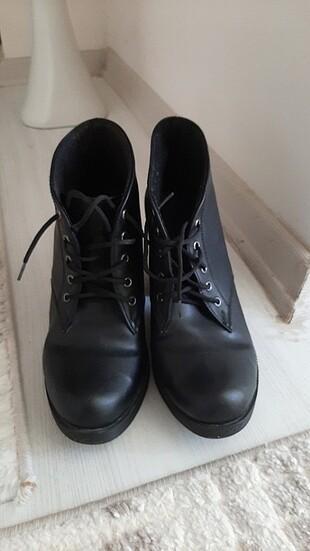 38 Beden siyah Renk Topuklu ayakkabı