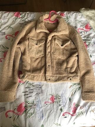 peluş ceket