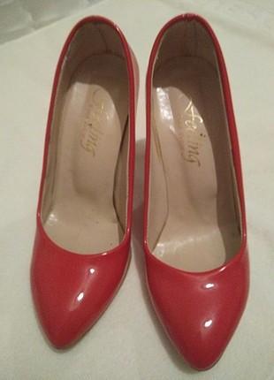 NEON PEMBE Stiletto ayakkabı