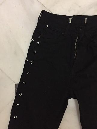 Vintage Love Siyah pantolon