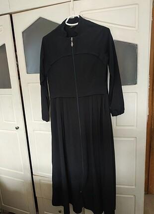 Uzun ferace namaz elbisesi