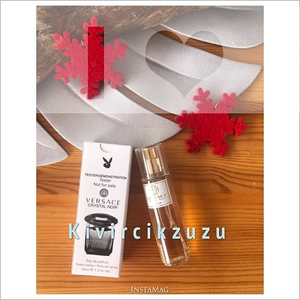 Versace Crystal Noir bayan parfümü